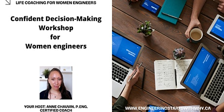 Confident decision-making workshop for women engineers tickets