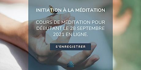 Initiation à la méditation - Méditation Pleine conscience pour débutants tickets