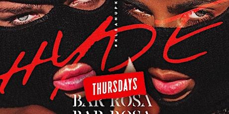 Hyde Thursdays At Bar Rosa tickets
