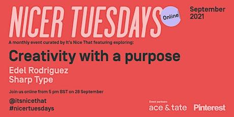 Nicer Tuesdays Online: September tickets