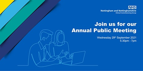 NHS Nottingham and Nottinghamshire CCG Annual Public Meeting tickets