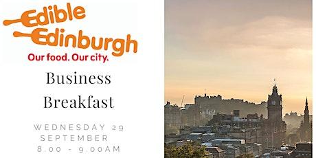 Edible Edinburgh Business Breakfast tickets