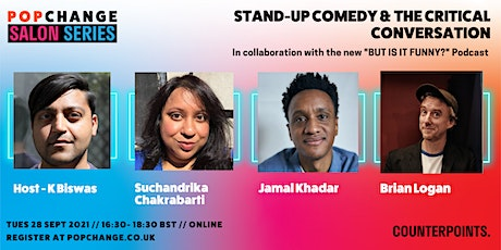 Popchange Salon Series: Stand-Up Comedy & the Critical Conversation tickets