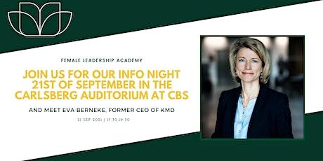 Info Night with Eva Berneke tickets