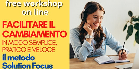 SolutionFocusItalia - 2° Workshop Gratuito tickets