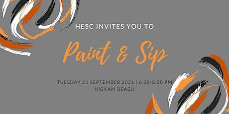 HESC  September Social A Paint & Sip tickets