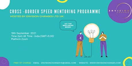 Envision Changes Cross-border Speed Mentoring Programme tickets