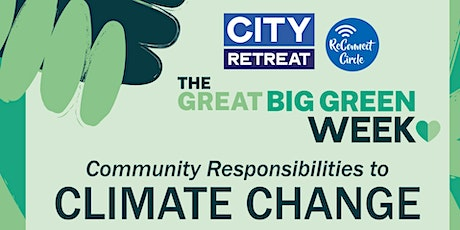 Community Responses to Climate Change tickets