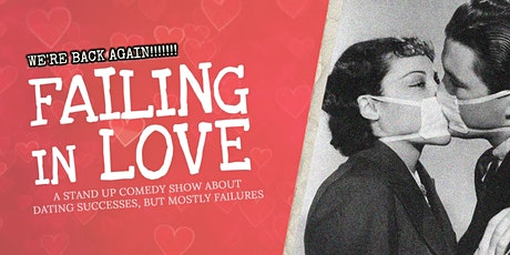 FAILING IN LOVE (in Castelldefels) • Stand Up Comedy in English tickets
