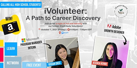 iContribute Presents iVolunteer: A Path to Career Discovery tickets