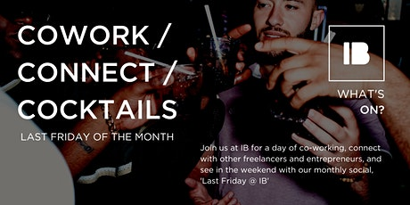 Cowork / Connect / Cocktails at Impact Brixton tickets