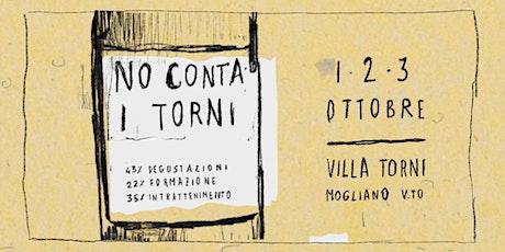 No Conta I Torni - Domenica 3 Ottobre biglietti