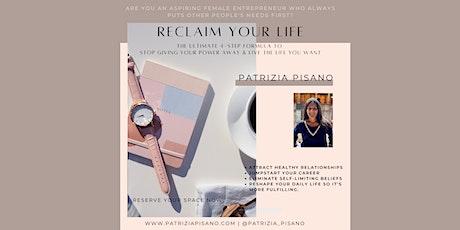 Reclaim Your Life Masterclass tickets