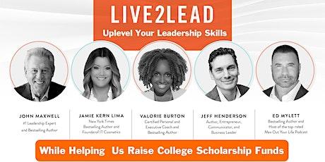 2021 Live2Lead Scholarship Charity Fundraiser - ROISD tickets