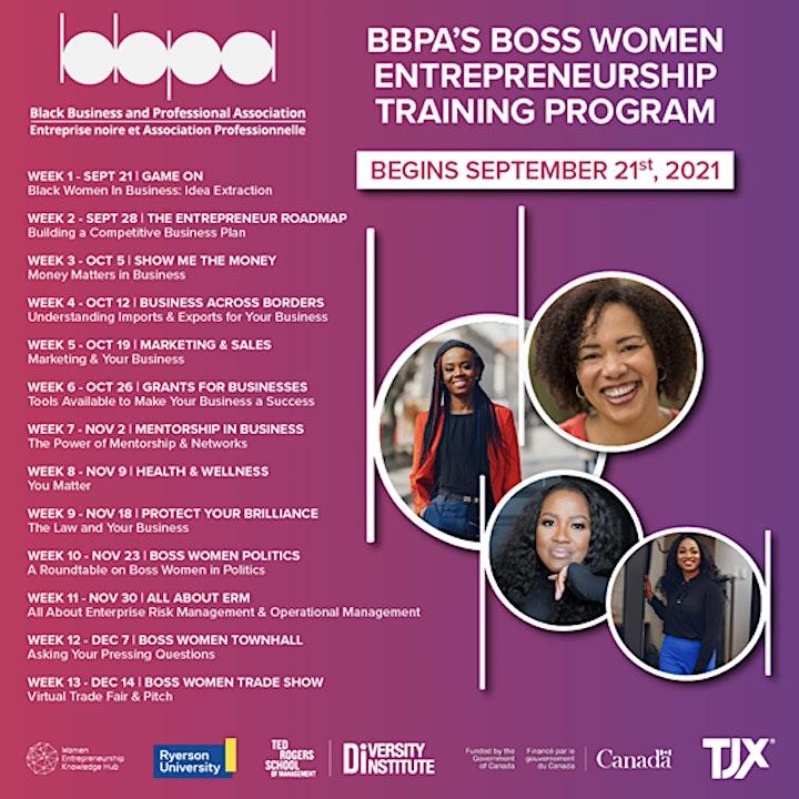 Boss Women Entrepreneurship Program Season 5 image