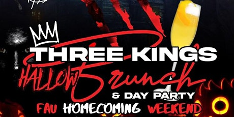 3Kings Hallowbrunch & Day Party tickets
