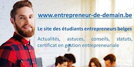 Rencontre des étudiants entrepreneurs - remise des certificats billets