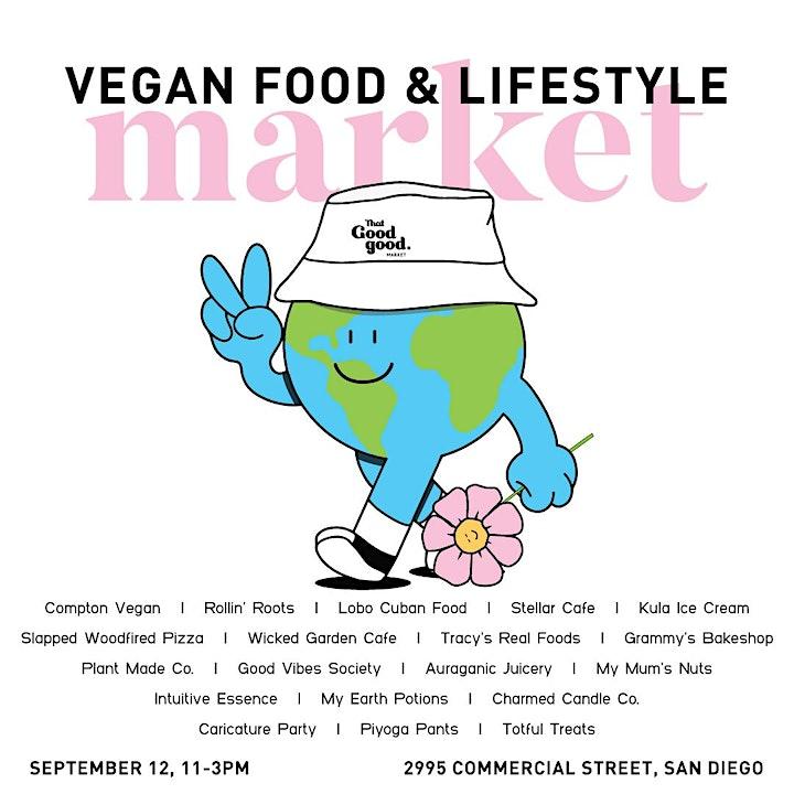That Good Good Market - Vegan Food, Lifestyle and Arts Market image