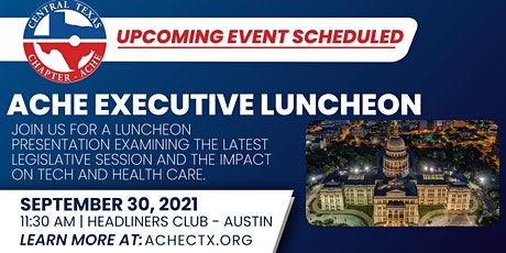 Luncheon: Legislative Session Summary on Tech and Health Care tickets