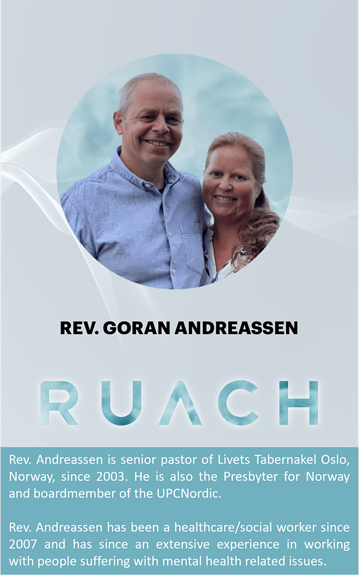 RUACH 2021. Apostolic Conference on Mental Health image