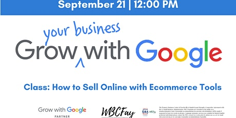 Grow with Google - Sell Online with E-Commerce Tools tickets
