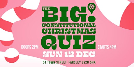 The Constitutional Christmas Quiz tickets