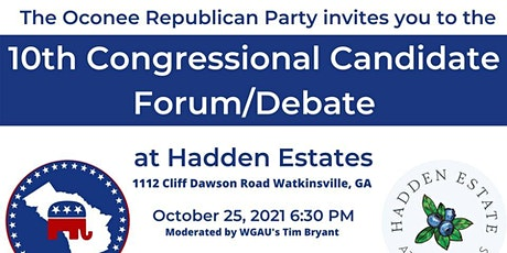 Candidate Forum for 10th Dist Congressional Candidates tickets