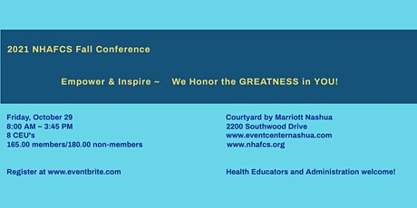 2021 Fall Conference ~Empower & Inspire ~ We Honor the GREATNESS in YOU ! tickets