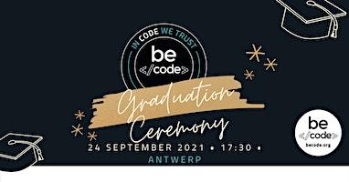 BeCode Antwerp – Graduation – 24-Sep-2021