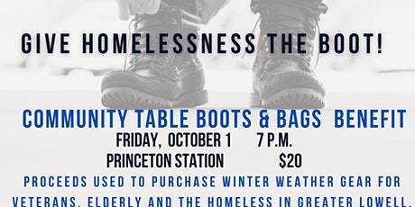 Community Table Boots & Bags Benefit tickets
