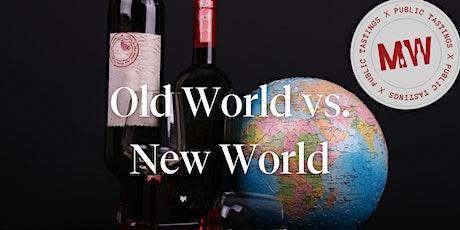 WINE U: Old World vs. New World tickets