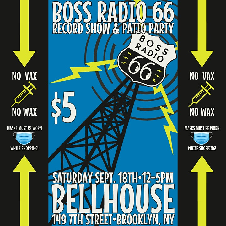 Boss Radio 66 Record Fair and Patio Party! image