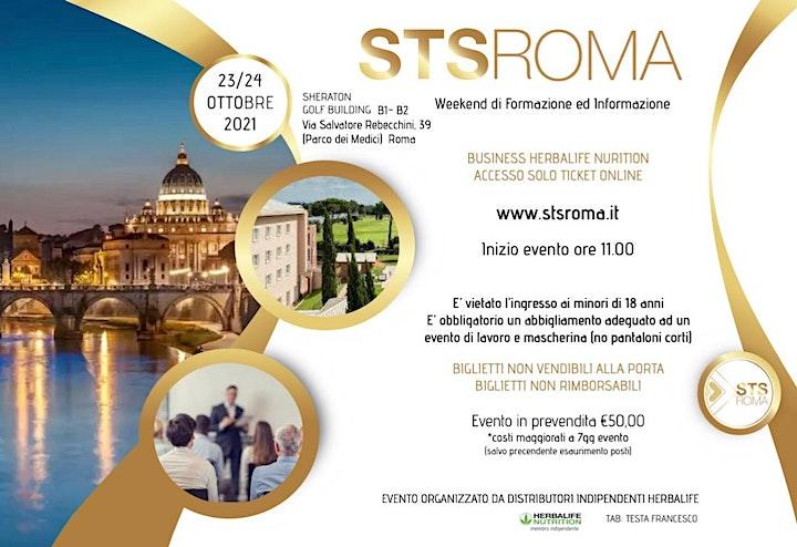 Immagine STS ROMA Ottobre | Weekend di Formazione BUSINESS Herbalife Nutrition