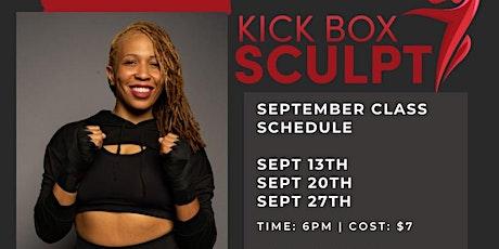 Kick Box Sculpt- Pop Up Class tickets