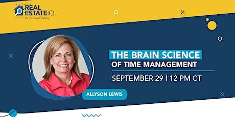 The Brain Science of Time Management biglietti