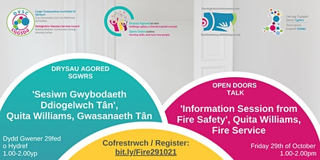 'Information Session from Fire Safety', Quita Williams, Fire Service tickets