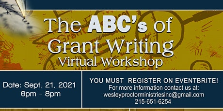 The ABC's of Grant Writing Workshop tickets