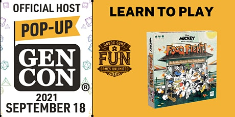 Disney Mickey and Friends Food Fight - Full Game Demo at Pop-Up Gen Con tickets