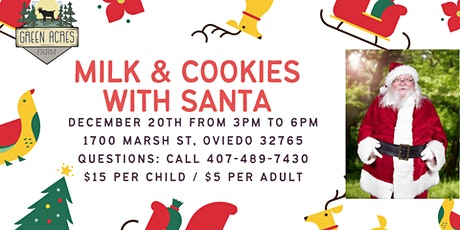 Milk & Cookies with Santa tickets