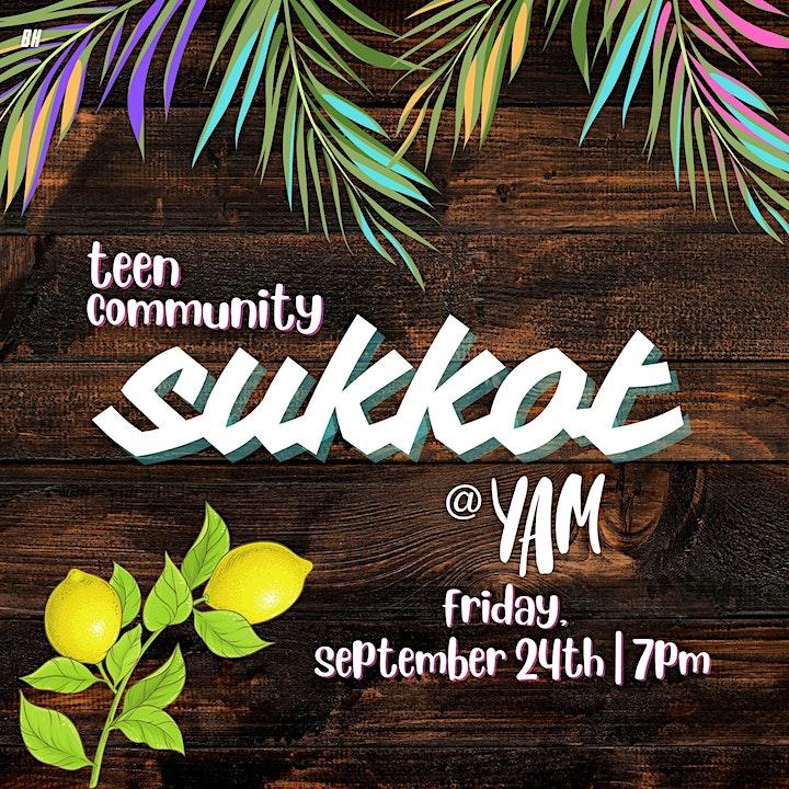 Teen Community Sukkot image