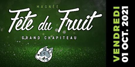 Fête du Fruit 2021 - Soirée - Vendredi 01/10/2021 billets