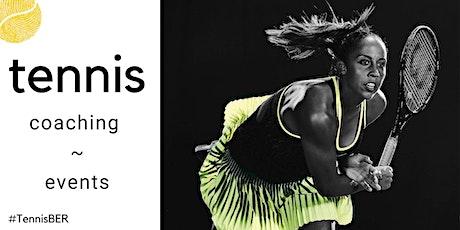 Tennis Coaching : Saturday : Indoor (Intermediate/advanced level) tickets