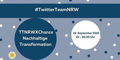 TTNRWXChance Nachhaltige Transformation Tickets
