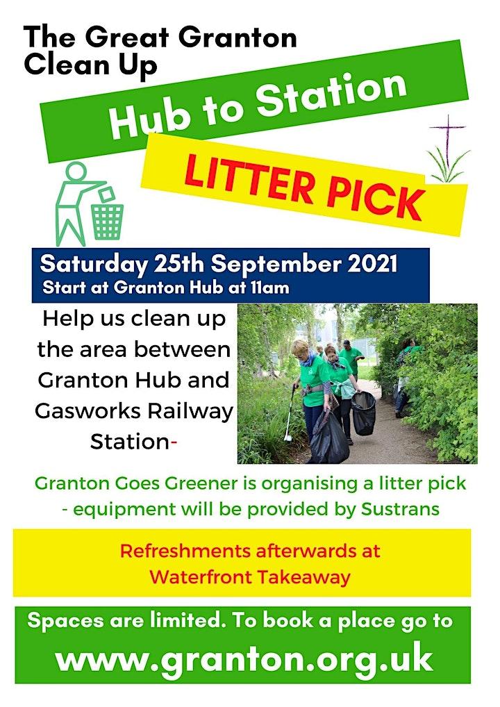 Granton Goes Greener Litter-Pick image
