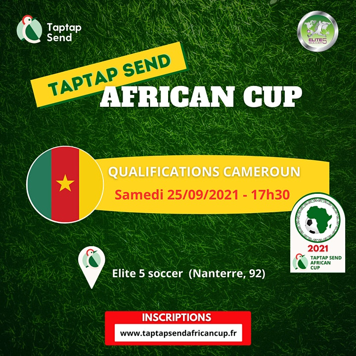 Image pour Qualifications Cameroun - TAPTAP SEND AFRICAN CUP