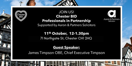 Professionals In Partnership with James Timpson OBE tickets