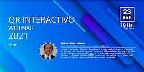 QR interactivo para la gestión comercial entradas