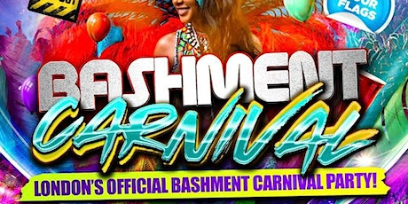 BASHMENT CARNIVAL - London's Biggest Carnival Party tickets