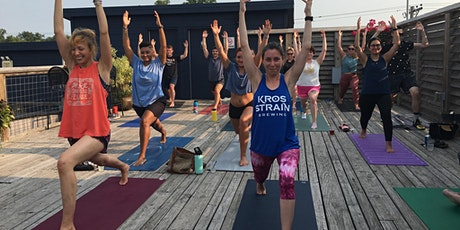 Rooftop Yoga & a (Free) Beverage tickets