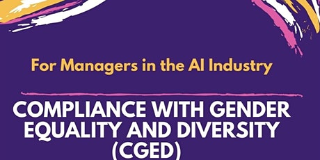 Workshop: Compliance with Gender Equality & Diversity tickets